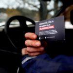Естонська автоінспекція почала вручати порушникам швидкості картки донорів