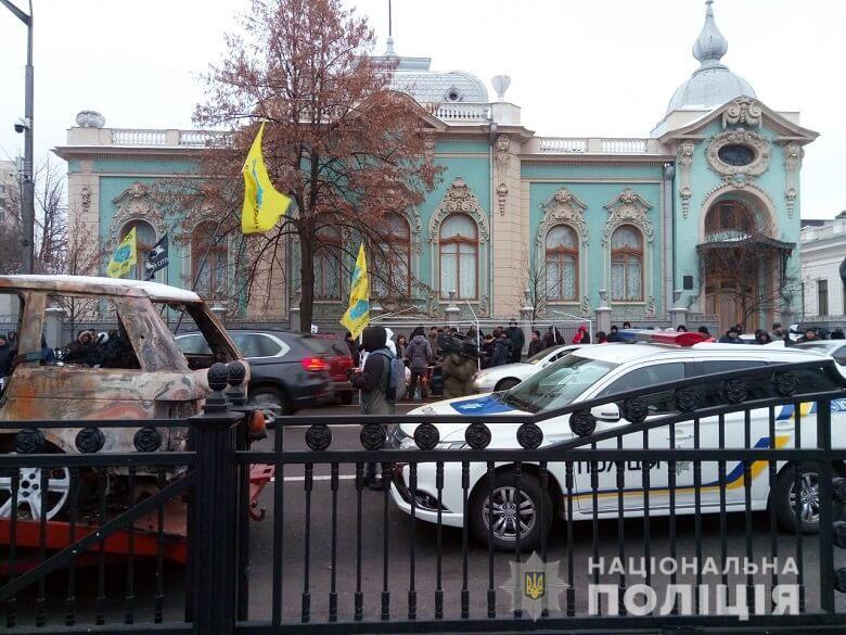 Більше 800 правоохоронців охороняють спокій в урядовому кварталі Києва під час акцій протесту