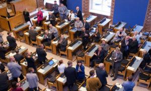 Парламент Естонії ухвалив спеціальну декларацію на підтримку України через черговий акт російської агресії