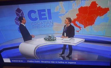 Хорватський телеканал публічно вибачився за карту України без Криму