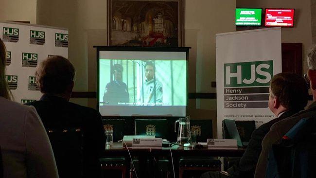 У Британському парламенті показали документальну стрічку про українських політв'язнів на Росії