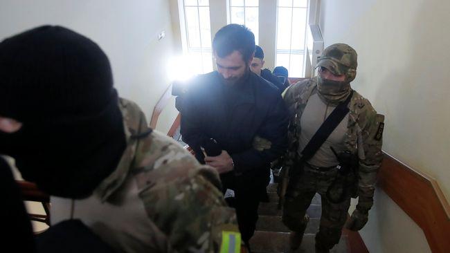 Денісова у Москві зустрілась з родичами полонених українських моряків