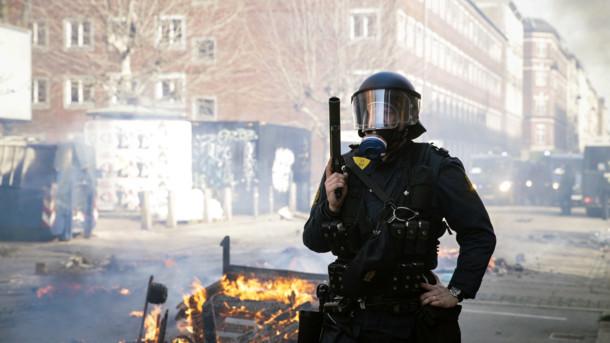 Ультраправі в Данії влаштували масові заворушення (КАДРИ)