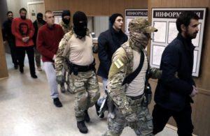 Посольство США вимагає від Росії негайного звільнення полонених українських моряків