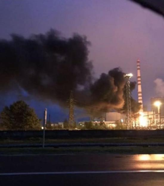 ДСНС у Рівненській області ліквідували нічну пожежу на Рівненській атомці