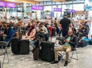 Через страйки авыакомпаній, скасовано понад 700 рейсів у Швеції, Данії і Норвегії