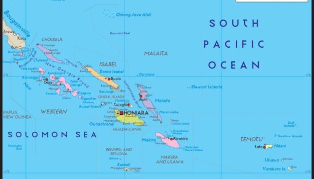 Потужний землетрус стався біля Соломонових островів