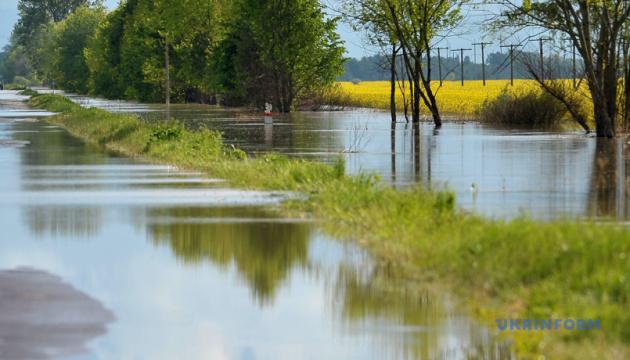 Потоп на західній Україні. За травень випало 230% місячної норми