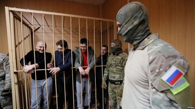 Кремль відмовився відпускати полонених українських моряків заявивши, що це питання непідсудне трибуналу ООН