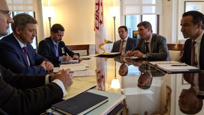 Секретар РНБО Данилюк провів зустріч з високопосадовцями США