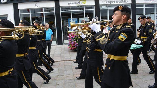 Український військовий оркестр взяв участь у марш-параді у Данії