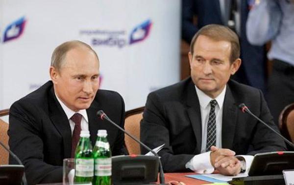 Кума Путіна Медведчука прибрали з мінських переговорів