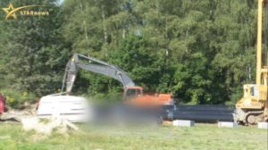 У Польщі українця задавило трубою (МОТОРОШНІ КАДРИ)