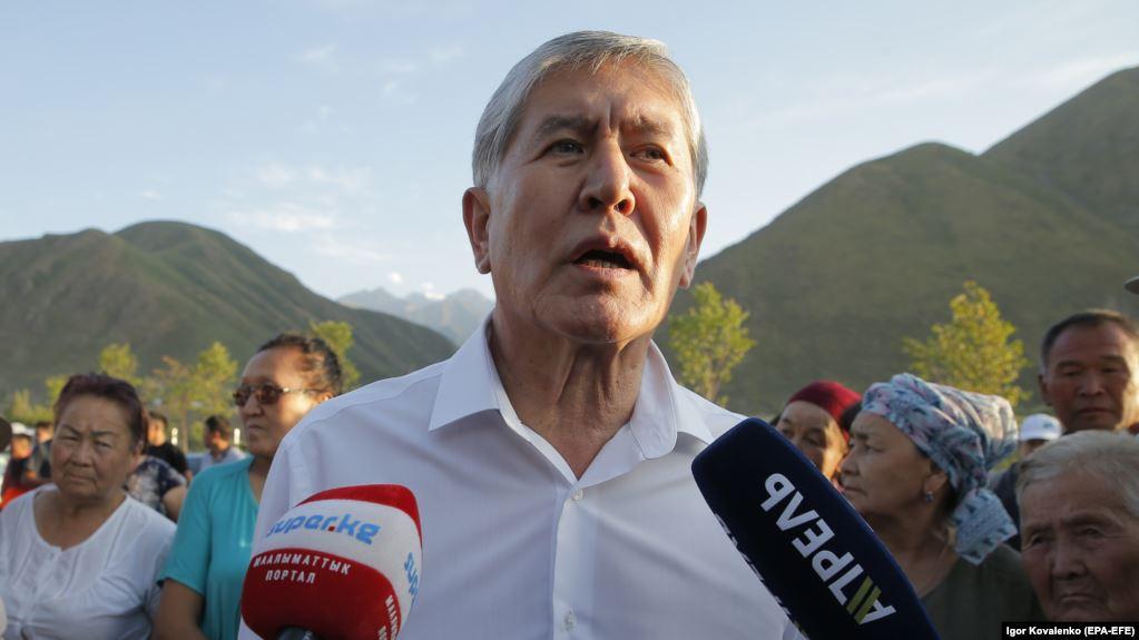 Екс президента Киргизстана затримали