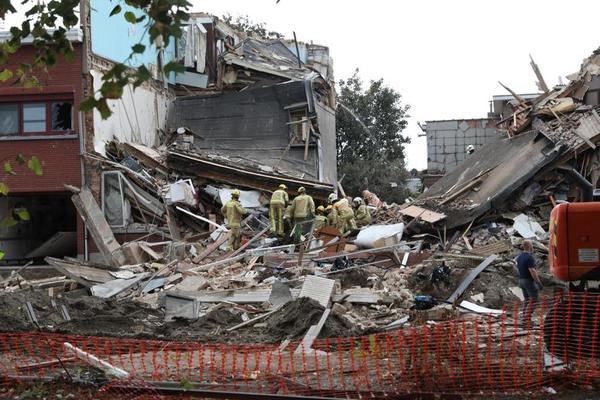 Страшний вибух в Бельгії в результаті якого зруйнувалось кілька будинків