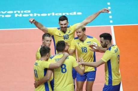 Збірна України з волейболу вперше в історії вийшла до чвертьфіналу чемпіонату Європи