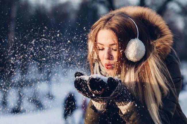 У Києві починається зима - випав невеликий сніг
