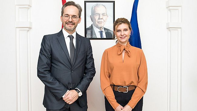"""Україна та Австрія співпрацюватимуть в межах міжнародного """"Партнерства Біарріц"""""""