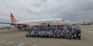Ще один літак із медзасобами для України завантажили у Китаї