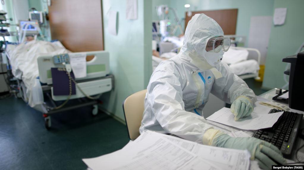 У Росії за добу виявили майже шість тисяч нових випадків COVID-19