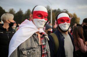 У Білорусі протягом минулої доби затримали понад 580 протестувальників, - МВС