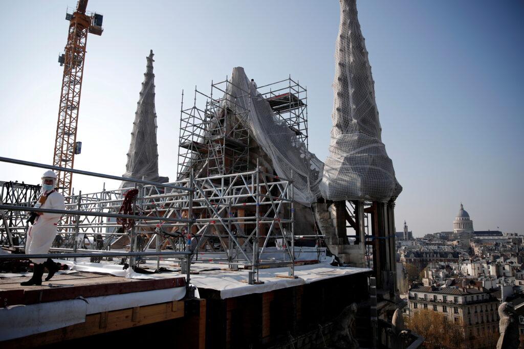 Собор Паризької Богоматері готовий до реставрації
