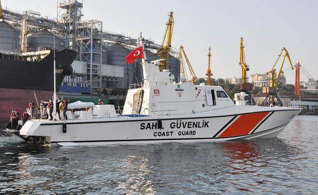 В Одеський порт з дружнім візитом зайшов катер берегової охорони Туреччини