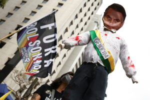 У Бразилії тисячі демонстрантів вимагали відставки президента